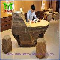 Best Supermarket Recycled Cardboard Furniture , cardboard office furniture couch wholesale