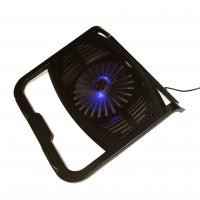 Best Dual USB Ports Laptop Cooling Stand with Single Fan for 15.6 inch Notebook wholesale