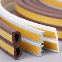 Cheap New product oem abrasion resistant soft rubber sponge strip/silicone striping/customize silicone seal for sale
