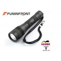 Best Underwater 150 Meters 1200LMs LED Flashlight Scuba Diving Lights  wholesale
