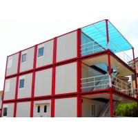China Warm Cool Steel Container Houses , Metal Container Houses With Air Conditioner on sale