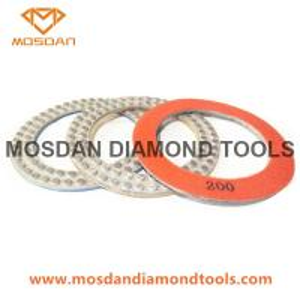 Best 7 Inch Metal-Bond Flex DOT Concrete Diamond Polishing Pads Pucks wholesale
