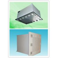 Buy cheap 400m³/h Hepa Filtration Systems Industrial Clean Room Fan Filter Units from wholesalers