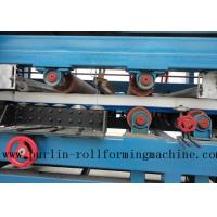 Best Colored Steel PU Sandwich Panel Production Line , Roof Panel Roll Forming Machine wholesale