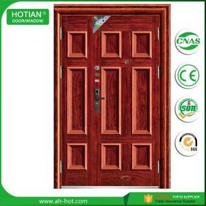 Best american steel door entrance steel security door main gate designs residential front door wholesale