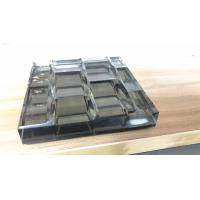 Best Laminated Carved Glass with metal coated polyester mesh fabric wholesale
