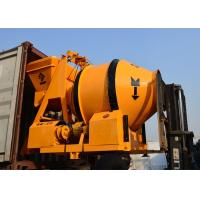 China Ready Mix Electrical Reserve Drum Mobile Concrete Mixer With Low Energy Consumption on sale