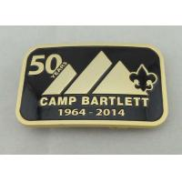 Best Camp Bartlett Custom Made Buckles Zinc Alloy  With Wiped Imitation Hard Enamel wholesale