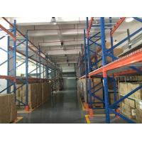 Space Saving Industrial Heavy Duty Racking System With Wooden Pallet