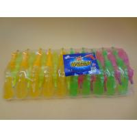 Best Plastic Gum Novelty Healthier Liquid Sour Candy For Little Girls / Boys wholesale
