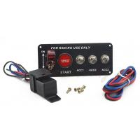 Best 30A Universal Racing Switch Panel For Car , Toggle Starter Switch wholesale