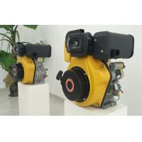 Best 7.2kw Electric Starter Small Single Cylinder Diesel Engine For Agriculture Machines wholesale