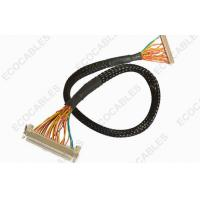 Best Industrial 1.0mm LVDS Cable Assembly Twisted LVDS LCD Display Cable Harness wholesale