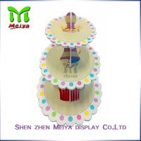 Best New Year Party Pack Cardboard Cake Stands , cardboard cupcake tower wholesale