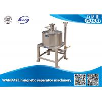 Best High Efficient 2.5T 7 DCA Manual Magnetic Separator For Grinding Machine wholesale
