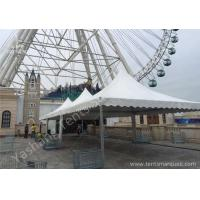 Quality 5x5M Wind Resistant High Peak Tension Tents Stainless Aluminum Framed wholesale