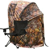 Best Pro Hunting Chair One Man Ground Blinds Real Tree Camo Tent for Deer Turkey , Duck wholesale