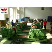 Best Fit Up And Assembly Pipe Welding Rotator , Bolt adjustable Welding Turning Roller HGK10 For Tank wholesale