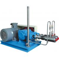 Best Steel Blue Color High Efficiency Automatic Cryogenic Liquid Pump For L-CNG Cylinders Filling wholesale