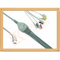 Best 10 Pin 5 Leads Grabber IEC Datex Ohmeda Ecg Cable With Copper Conductor wholesale
