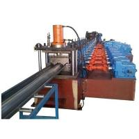 Best 3 Waves Highway Guardrail Roll Forming Machine Use Universal Coupling Export to Poland European Countries wholesale