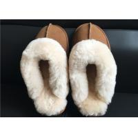 Buy cheap Ladies Countess Sheepskin Slippers Chestnut Deluxe Ladies Sheepskin slipper brown from wholesalers