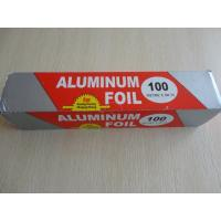 China Recyclable Aluminium Foil Roll Paper Food Cooking Use 100% Safe on sale