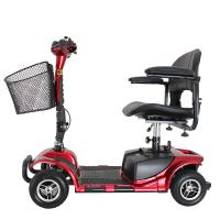Best Four wheel 9 inch disabled elderly electric mobility scooter 24V/180W wholesale