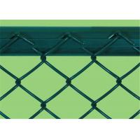 Best Heavy Protecting PVC Coated Chain Link Fence 0.5 - 4m Width 5 - 25m Length wholesale