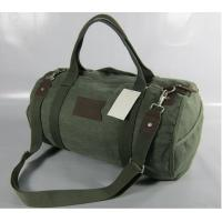 Best Army Green Customized Heavy Canvas Travel Duffle Bag For Trekking wholesale
