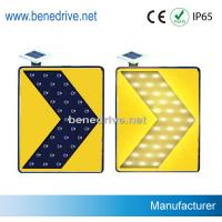 Best Solar Traffic Signs LED Road Signs Moving Flashing Arrows STS0112 wholesale