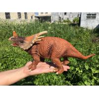 Best L30*W10*H14 Walking Triceratops Toy / Plastic Triceratops Dinosaur Toy wholesale