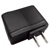 Cheap Portable USA plug 5V 2A USB Adapter with CE certifications for sale
