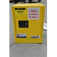 Best Metal Chemical Storage Cabinets , Dangerous Goods Cabinets For Flammable Liquid wholesale