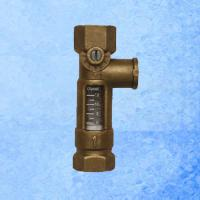 Best High Accurate Brass Mechanical Flow Meter Direct Reading For Balancing Valve wholesale