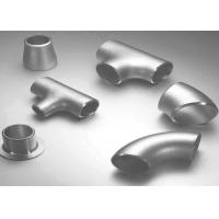 Best Carbon Steel / Stainless Steel Butt Weld Fittings Steel Pipe Tee with ISO9001 Approvals wholesale