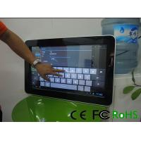 """Best 32"""" Interactive Touch Screen Kiosk , PC Information Checking Machine wholesale"""