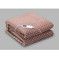 Best Low-Voltage heated blanket in single size with double spiral heating wire wholesale