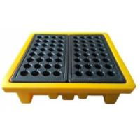 Best Leak Proof 4 Drum Spill Containment Pallet Spill Platform For Drum Storage wholesale