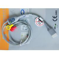 Cheap Snap Electrode Holter ECG Cable 2 Leads Medical Device Accessories For Patient for sale