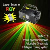 China Red+Green color  Mini disco Laser beam Projector with scanner (single hole) on sale