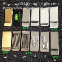 Best Linear metal money clip wallet for mens gift, Slim steel money clips selection, wholesale