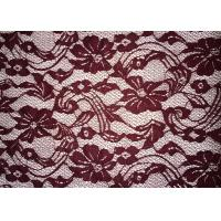 Best Beauty Chemical Lace Fabric / Cupion Lace Fabric With Polyester / Cotton Material wholesale