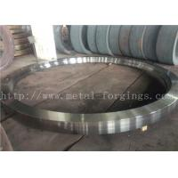 Best Max OD 5000mm A350 LF3 LF6 Carbon Steel Forged Rings  Rough Machined Q+T Heat Treatment wholesale