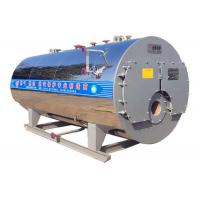 China Smoke Tubes Drum Type Fuel Gas Oil Fired Firetube Steam Boiler for Medicine factory on sale