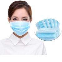 Best Breathable 3 Ply Disposable Mask High Filtration Capacity With Elastic Earloop wholesale