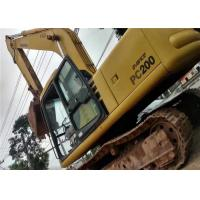 Best Japan Second Hand Komatsu Excavator PC220 6 , No Any Damage Used Komatsu Backhoe wholesale
