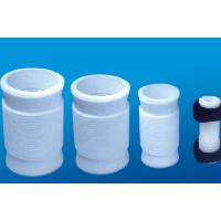 Best White PTFE tube , 2.10g/cm³ PTFE Soft Joint / PTFE Material For Metal Tube wholesale