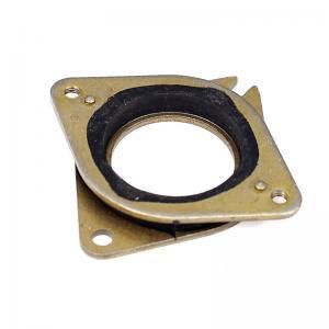Best Brass Rubber Stainless 51.8*51*6mm Nema 17 Vibration Pad 42 Stepper wholesale