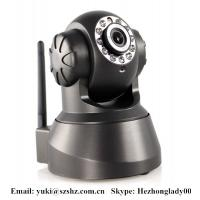 China Wireless Wifi IR network IP Camera HZ-IP380 Support 3G mobile, iphone with night vision on sale